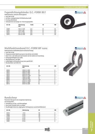 Multifunktionsband O.C.-FORM WF nano